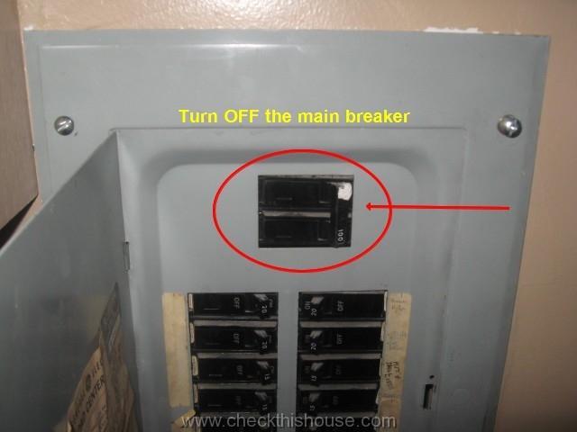 main breaker