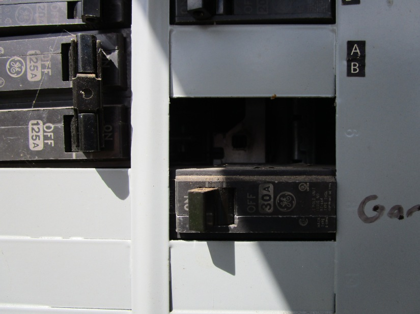 Open Breaker Slot